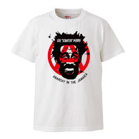 """【Lee """"Scratch"""" Perry/リー・ペリー】5.6オンス Tシャツ/WH/ST-406"""