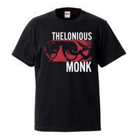 【Thelonious Monk / セロニアスモンク】5.6オンス Tシャツ/BK/ST-089