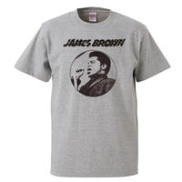 【James Brown/ジェイムス・ブラウン】5.6オンス Tシャツ/GY/ST- 332