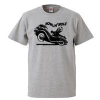 【Howlin Wolf/ハウリンウルフ】5.6オンス Tシャツ/GY/ST- 589