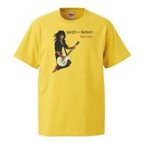 【Joan Jett & the Blackhearts /ジョーン・ジェット&ザ・ブラックハーツ】5.6オンス Tシャツ/YL/ST-083
