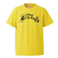 【Firefly/レーベルT】 5.6オンス Tシャツ/YL/ST-452