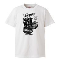 【The Champs-ザ・チャンプス/El Rancho Rock,Midnighter】5.6オンス Tシャツ/WH/ST- 157