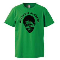 【AL GREEN /アル・グリーン】 5.6オンス Tシャツ/GR/ST- 620