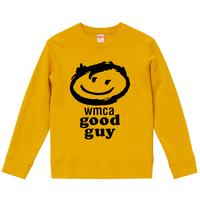 【WMCA GOOD GUY/WMCAラジオ】9.3オンス スウェット/ORG/SW-134