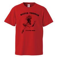 【RUFUS THOMAS/ルーファス・トーマス】5.6オンス Tシャツ/RD/ST- 676