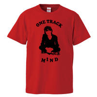 【Johnny Thunders-ジョニー・サンダース/One Track Mind】5.6オンス Tシャツ/RD/ST- 437