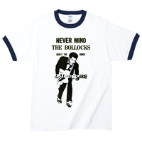 【Never Mind The Chuck Berry/チャックベリー】5.3オンス Tシャツ/WH/RT- 245