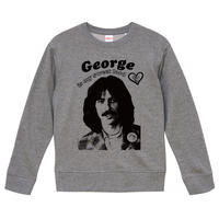 【George Harrison is my sweet lord/ジョージ・ハリスン】9.3オンス スウェット/GY/SW-416