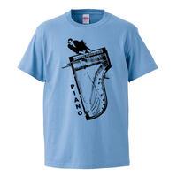 【Ray Charles-レイチャールズ/Piano】5.6オンス Tシャツ/SAX/ST- 394