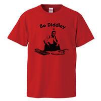 【Bo diddley/ボ・ディドリー】5.6オンス Tシャツ/RD/ST- 692