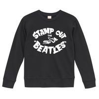 【Stamp Out The Beatles-スタンプアウトザビートルズ】9.3オンス スウェット/BK/SW- 196