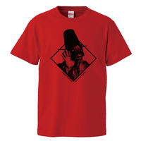 【Captain Beefheart-キャプテンビーフハート/Trout Mask Replica 】5.6オンス Tシャツ/RD/ST-401