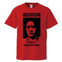【Record collector/レコードコレクターはおぞましい】 5.6オンス Tシャツ/RD/ST-573