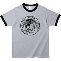 【マンフレッド・マンズ・アース・バンド】5.3オンス Tシャツ/GYBK/RT- 642