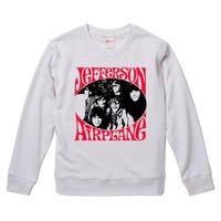 【Jefferson Airplane/ジェファーソン・エアプレイン】9.3オンス スウェット/WH/SW-689