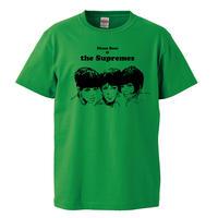 【The supremes/シュープリームス 】5.6オンス Tシャツ/GR/ST- 615