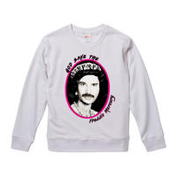 【God Save The Freddie Mercury/フレディ・マーキュリー】9.3オンス スウェット/WH/SW- 278