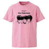 【The supremes/シュープリームス 】5.6オンス Tシャツ/PK/ST- 615