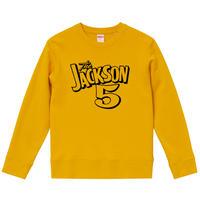【ジャクソン5/JACKSON 5】9.3オンス スウェット/ORG/SW-662