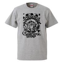 【Grateful dead/グレイトフル・デッド】5.6オンス Tシャツ/GY/ST- 681