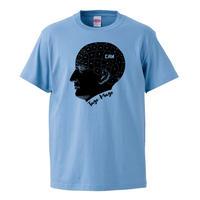 【CAN/TAGO MAGO-タゴマゴ】5.6オンス Tシャツ/SAX/ST- 418