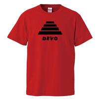 【DEVO-ディーボ/Energy Dome Hat】5.6オンス Tシャツ/RD/ST- 333