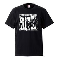 【The Undertones/Teenagekicks】 5.6オンス Tシャツ/BK/ST-582