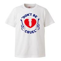 【elvis presley/Don't Be Cruel】5.6オンス Tシャツ/WH/ST- 596