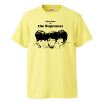 【The supremes/シュープリームス 】5.6オンス Tシャツ/LY/ST- 615