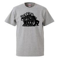 【Madness /マッドネス】 5.6オンス Tシャツ/GY/ST- 623