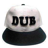 【DUB-CAP/ダブ・キャップ】ベースボールキャップ/WH/BC- 338