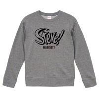 【Steve marriott/スティーブ・マリオット】9.3オンス スウェット/GY/SW-558