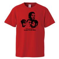 【Booker T. & the M.G.'s/time is tight】5.6オンス Tシャツ/RD/ST- 657