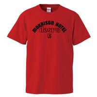 【モリソンホテル /ドアーズ】5.6オンス Tシャツ/RD/ST- 635
