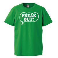 【The Mothers of Invention-フランクザッパ/FREAK OUT】5.6オンス Tシャツ/ GR /ST-443