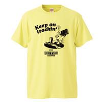【Keep on Trackin'/キーポントラッキン】5.6オンス Tシャツ/LY/ST- 632