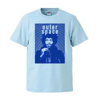 【 outer space/jimi hendrix-ジミ・ヘンドリックス】 5.6オンス Tシャツ/LB/ST- 387