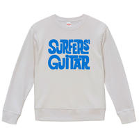 【Dick Dale - Surfers' Guitar/ディック・デイル】 9.3OZ スウェット/WH/SW-580