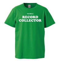 【i'm not a record collector/ノット・ア・レコードコレクター】5.6オンス Tシャツ/GR/ST- 405