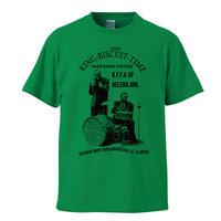 【Sonny Boy Williamson-サニーボーイウィリアムスン/KING BISCUIT TIME】 5.6オンス Tシャツ/GR/ST- 371