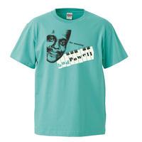 【Amazing Bud Powell/ アメイジング バドパウエル】5.6オンス Tシャツ/GR/ST-090