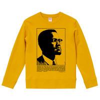 【Malcolm X/マルコムX】9.3OZ スウェット/YL/SW-570