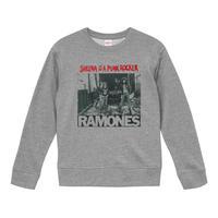【Sheena is a punk rocker/Ramones-ラモーンズ】9.3オンス スウェット/GY/SW-315