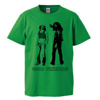 【チーチ&チョン/GOOD FRIENDS】5.6オンス Tシャツ/GR/ST- 393