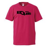 【EQUALS UNEQUALLED/イコールズ】5.6オンス Tシャツ/PK/ST-057_bk