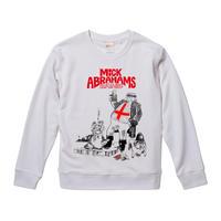 【Mick Abrahams Band/ミック・アブラハムス・バンド】9.3オンス スウェット/WH/SW- 309