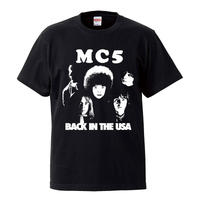 【 MC5/BACK IN THE USA】 5.6オンス Tシャツ/BK/ST- 389