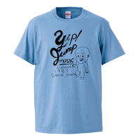【daniel johnston-ダニエル・ジョンストン/Yip jump music】5.6オンス Tシャツ/SAX/ST-448
