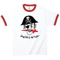 【Johnny Kidd & The Pirates /ジョニー・キッド&ザ・パイレーツ】5.3オンス Tシャツ/WHRD/RT- 257